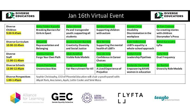 #DiverseEd Virtual III image