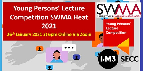 Young Persons' Lecute Competition SWMA heat 2021 tickets
