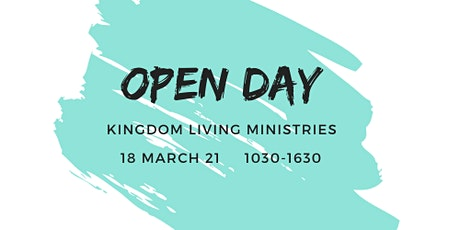 Kingdom Living Ministries Open Day tickets