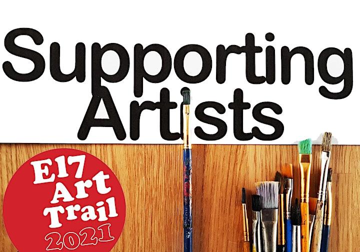 E17 Art Trail Peer Group - Group Show / Emerging Artists - Lauren Little image