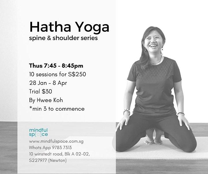 Hatha Yoga - Spine and Shoulder Series (Adult) image