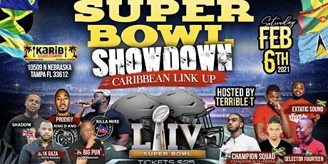 Tampa SuperBowl Showdown Caribbean Link Up tickets