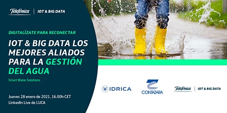 LINKEDIN LIVE: IoT & Big Data los mejores aliados para la gestión del Agua entradas