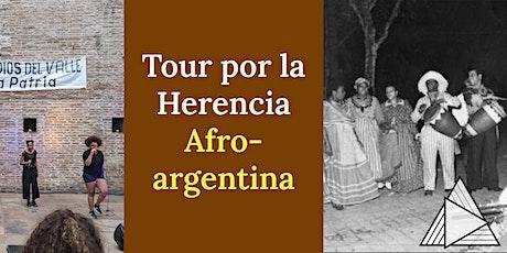 TOUR EN VIVO ONLINE : Tour por la Herencia Afroargentina boletos