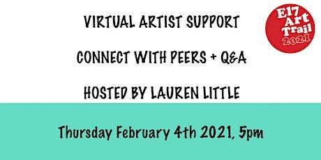 E17 Art Trail Artist Support Group - Group Show Curating - Lauren Little tickets