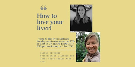 Yoga & Gut Health | MINI RETREAT - How to love your liver tickets