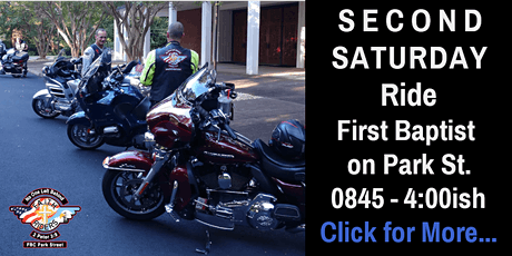 November 13th - Second Saturday - Veterans Day Ride tickets