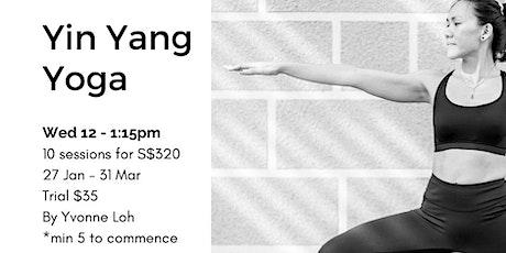 Yin Yang Yoga (Adult) tickets