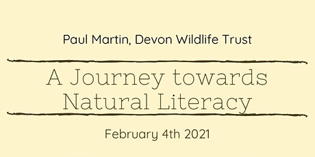 A Journey Toward Natural Literacy tickets