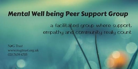 Mental Well-being Peer Support Group tickets