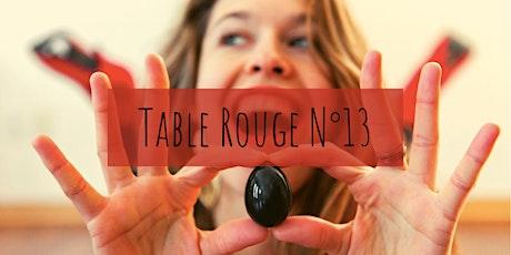 Table Rouge N°13 ✦ L'Oeuf de Jade: entre Extase et Tonus tickets