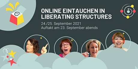 Online eintauchen in Liberating Structures: Virtueller Immersion Workshop ingressos