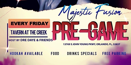 Patio Fridays w/Majestic Fusion (PRE-GAME) tickets