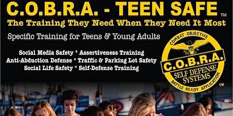 Teen Safe Self Defense Class tickets