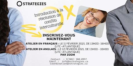 Introduction à la résolution de conflits interculturelle tickets