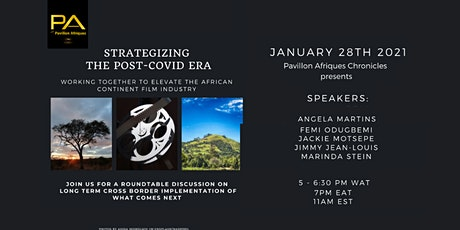 Strategizing the post-Covid era for the film industry in Africa & diaspora billets
