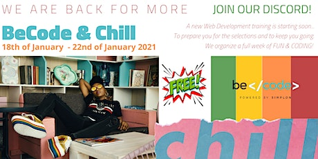 BeCode & Chill - ONLINE EVENT by  BeCode Antwerp tickets