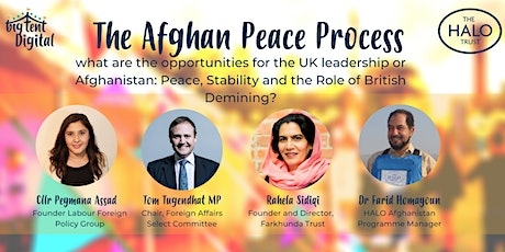 The Afghan Peace Process: what are the opportunities for the UK leadership tickets
