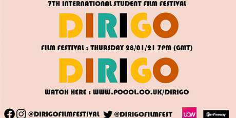 Dirigo 7th International Student Film Festival tickets