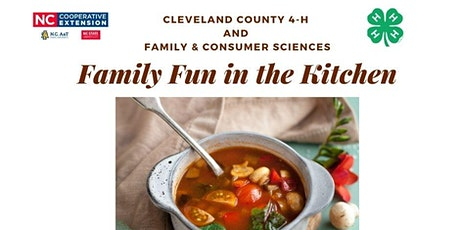 Family Fun in the Kitchen: Soup tickets
