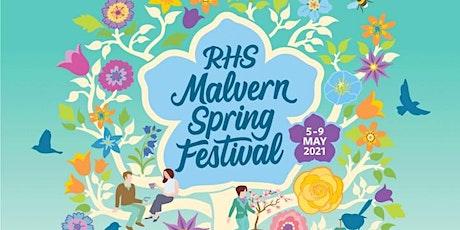 RHS Malvern Spring Festival tickets