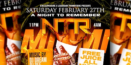 NTRMIAMI (Night To Remember) tickets