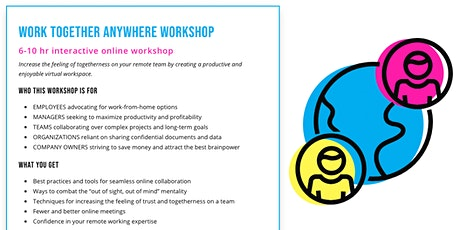 WORKSHOP: Work Together Anywhere tickets
