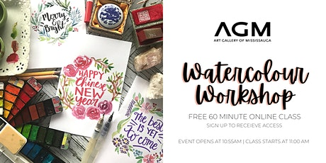 Watercolour Workshop with Angela Chao tickets