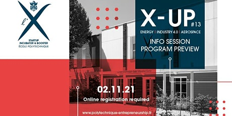 X-UP Promo #13: Info session billets