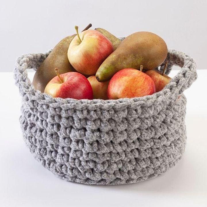 Crochet Basket Workshop image
