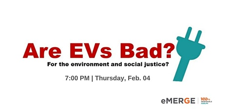 Are Evs Bad? tickets
