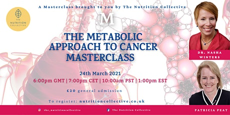 The Metabolic Approach to Cancer: A Masterclass tickets