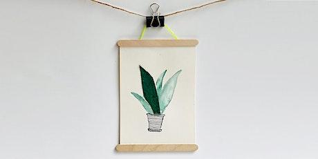 Online-Workshop | Pflanzen-Illustration | Für 10- bis 14-Jährige Tickets
