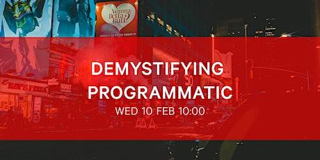BIMA Hangout | Demystifying Programmatic tickets