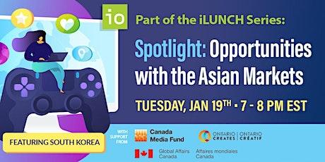 Spotlight: Opportunities with Asian Markets tickets