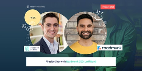 Fireside Chat with Roadmunk CEO, Latif Nanji tickets