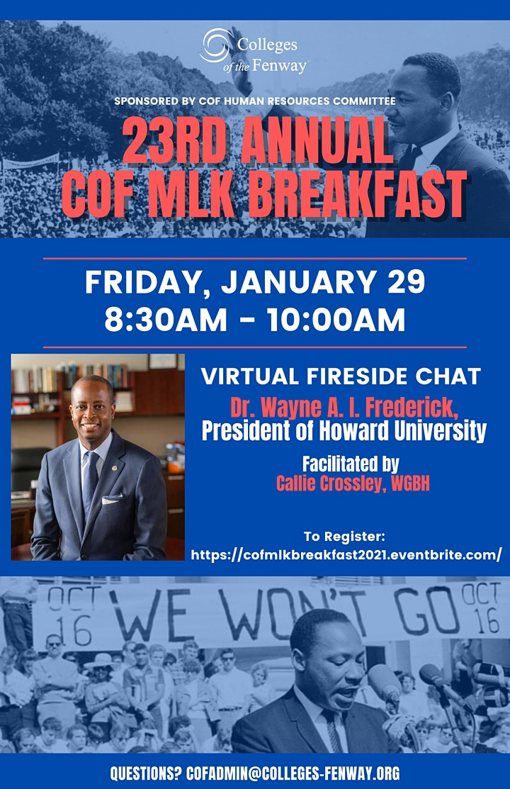 23rd Annual Colleges of the Fenway MLK Breakfast image