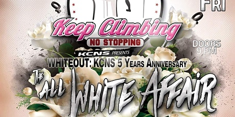 KCNS 5 YEAR ANNIVERSARY WHITEOUT tickets
