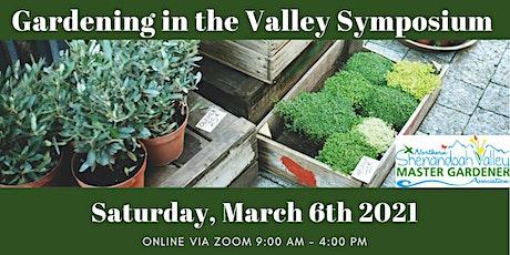 Gardening in the Valley Symposium 2021 tickets