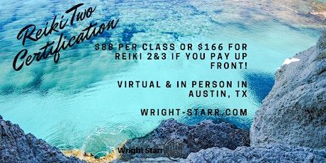 Reiki 2 Certification! tickets