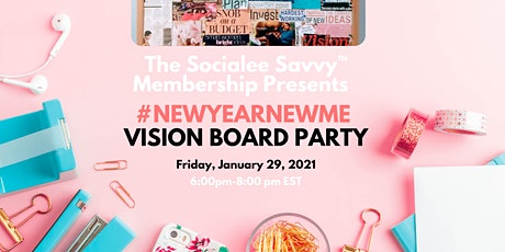 #NewYearNewMe Vision Board Party (Virtual) tickets