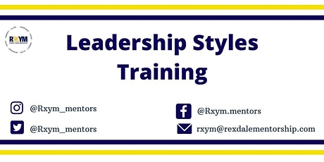 Leadership Styles Training tickets