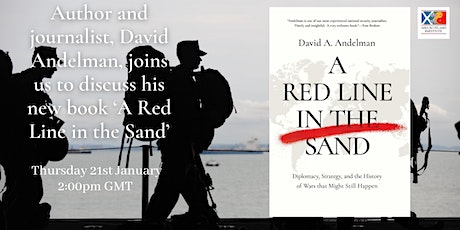 David Andelman: 'A Red Line in the Sand' tickets