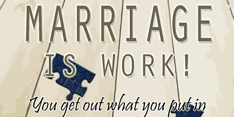 Marriage is Work! Virtual Book signing tickets