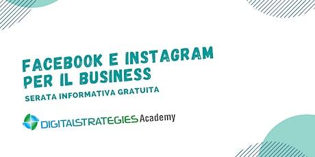 Serata Informativa online. Facebook e Instagram per il Business [11^Ed.] biglietti