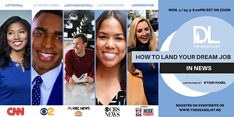 How to Land Your Dream Job In News tickets