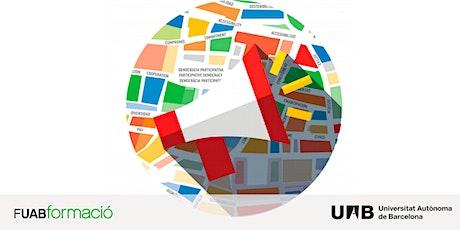 Sesión online Máster Oficial en Políticas Sociales y Acción Comunitaria UAB boletos