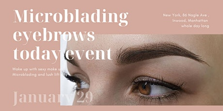 "Microblading eyebrows party  "" open house day"" tickets"