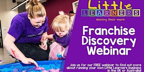 The Little Learners Franchise Opportunity - Webinar tickets