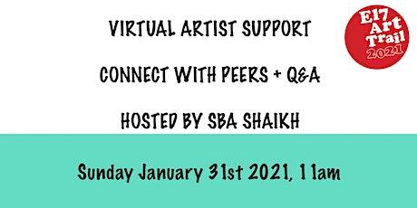 E17 Art Trail Artist Support Group - Textiles/ Mixed Media - Sba Shaikh tickets
